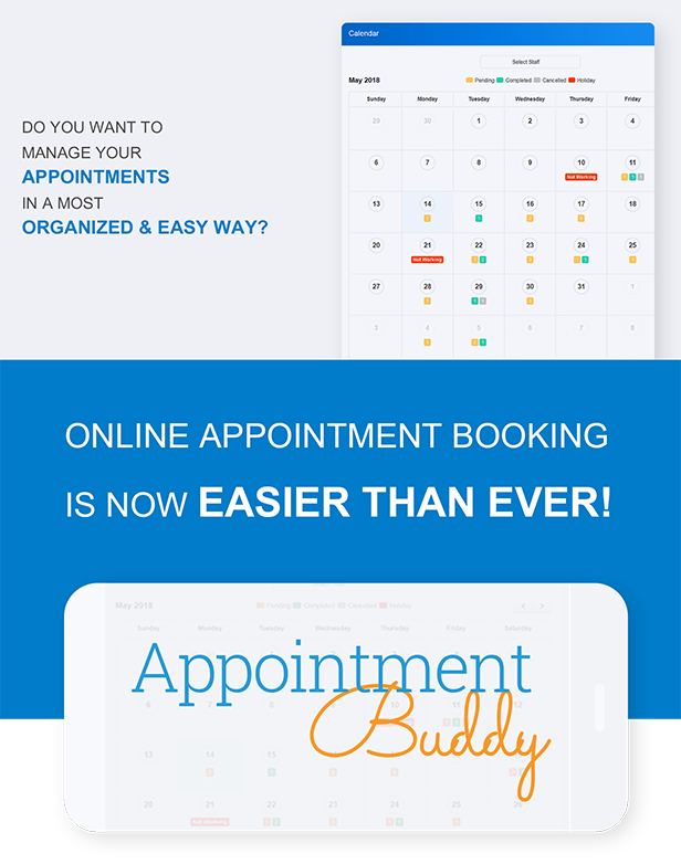 Appointment Buddy - Online Appointment Booking WP Plugin - 1