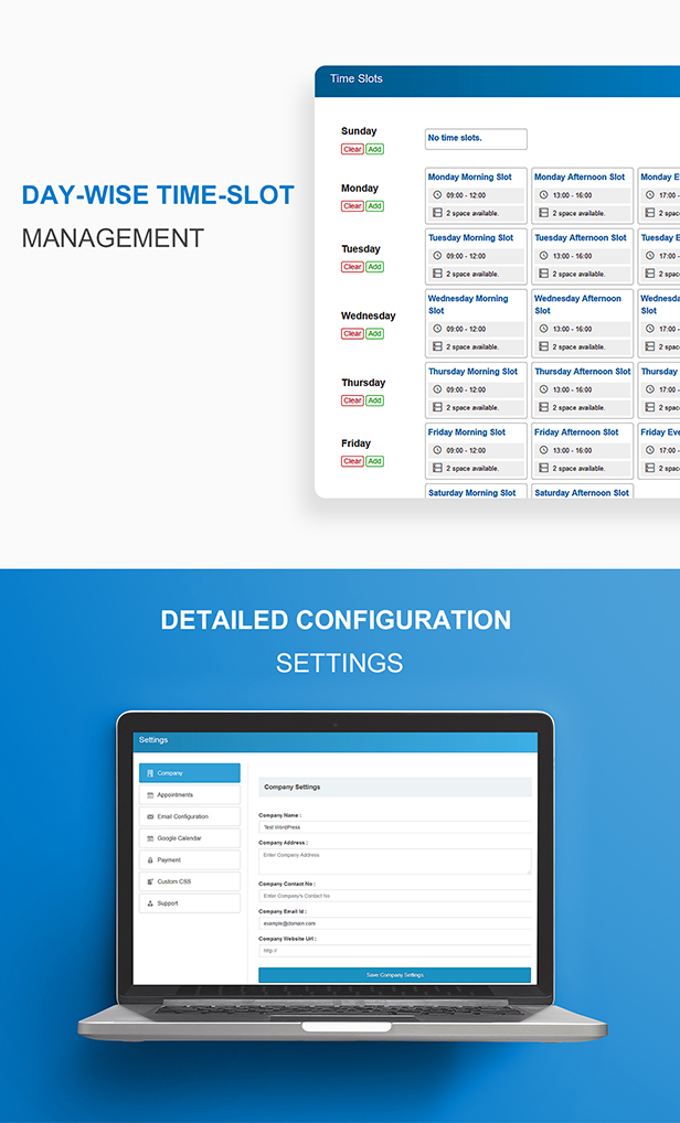 Appointment Buddy - Online Appointment Booking WP Plugin - 8
